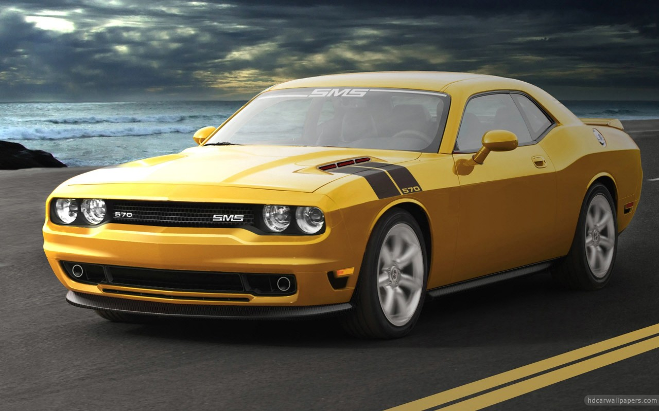 Sms Dodge Challenger Wallpaper Hd Car Wallpapers Id 2043