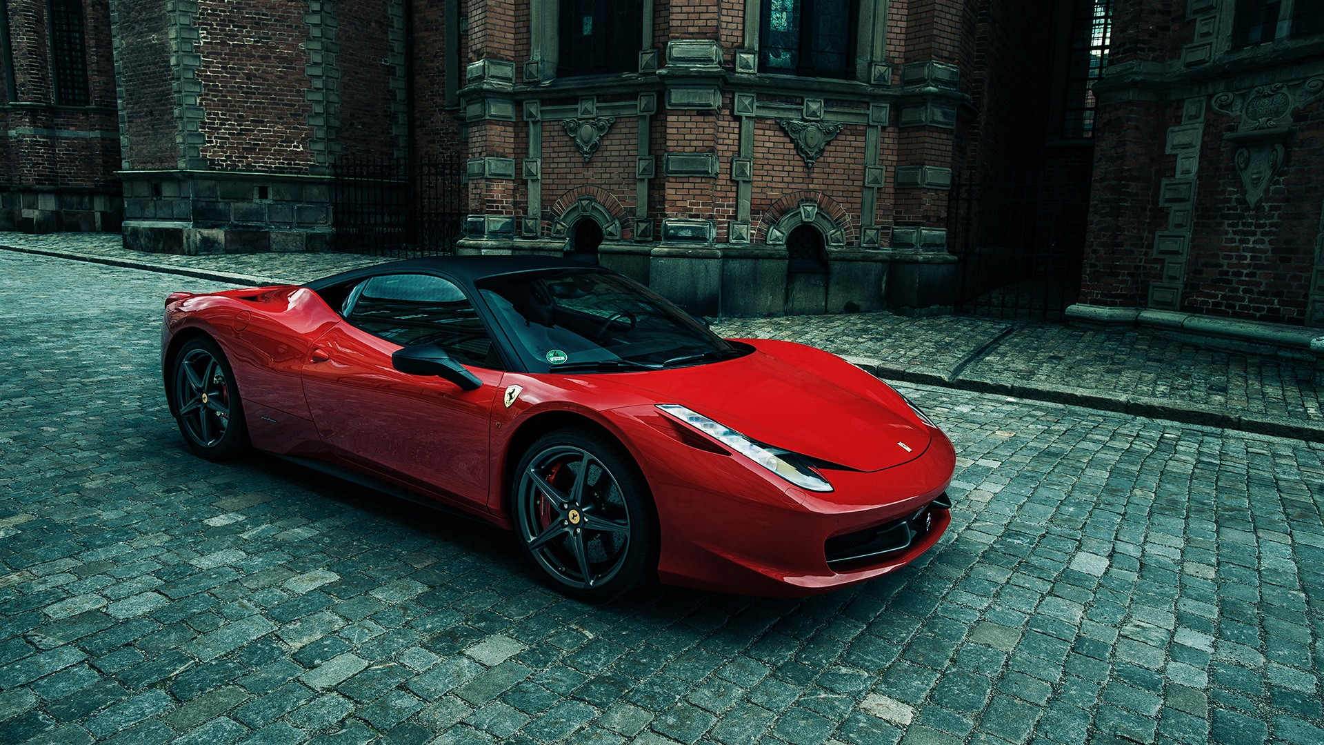 sporty ferrari 458 italia wallpaper hd car wallpapers id 3239. Black Bedroom Furniture Sets. Home Design Ideas