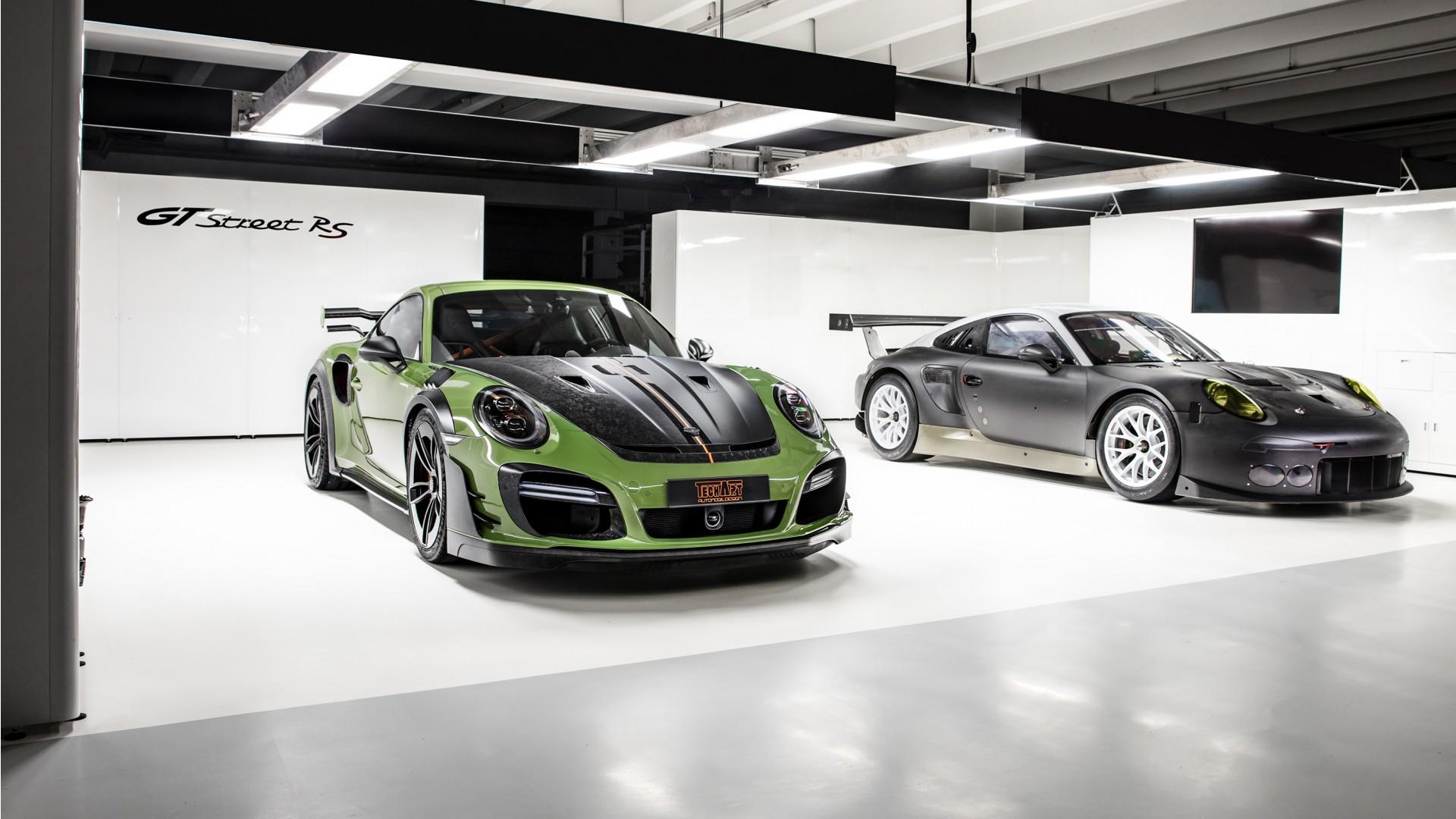 TechArt Porsche 911 Turbo GT Street RS 2019 Wallpaper   HD ...