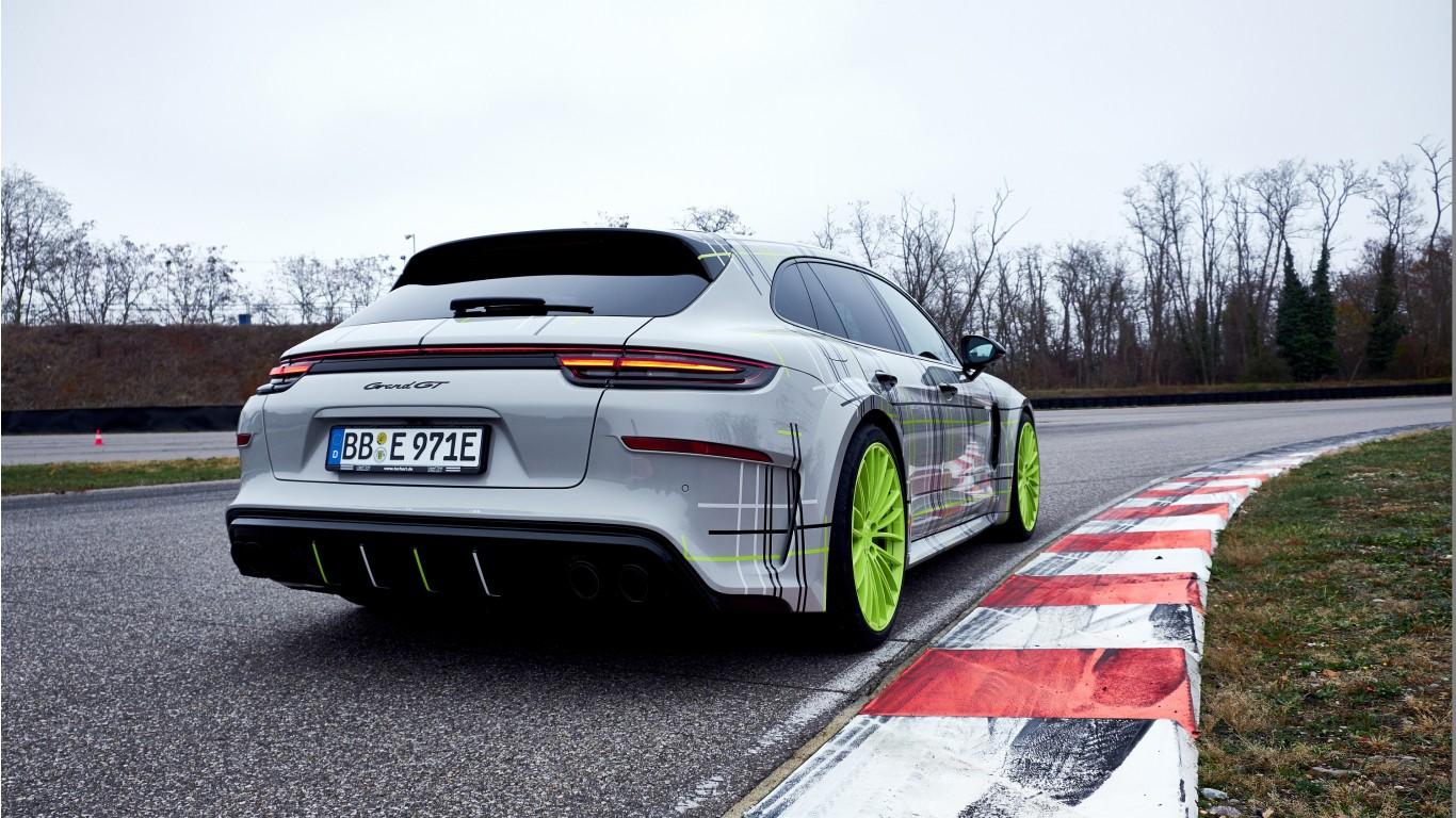 techart porsche panamera turbo   hybrid sport turismo grand gt   wallpaper hd car