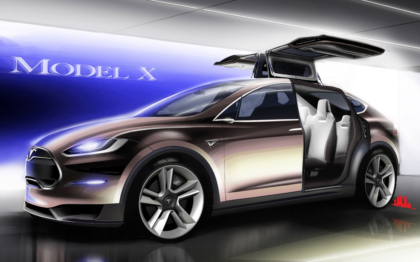 Tesla Model X Wallpaper Hd Car Wallpapers