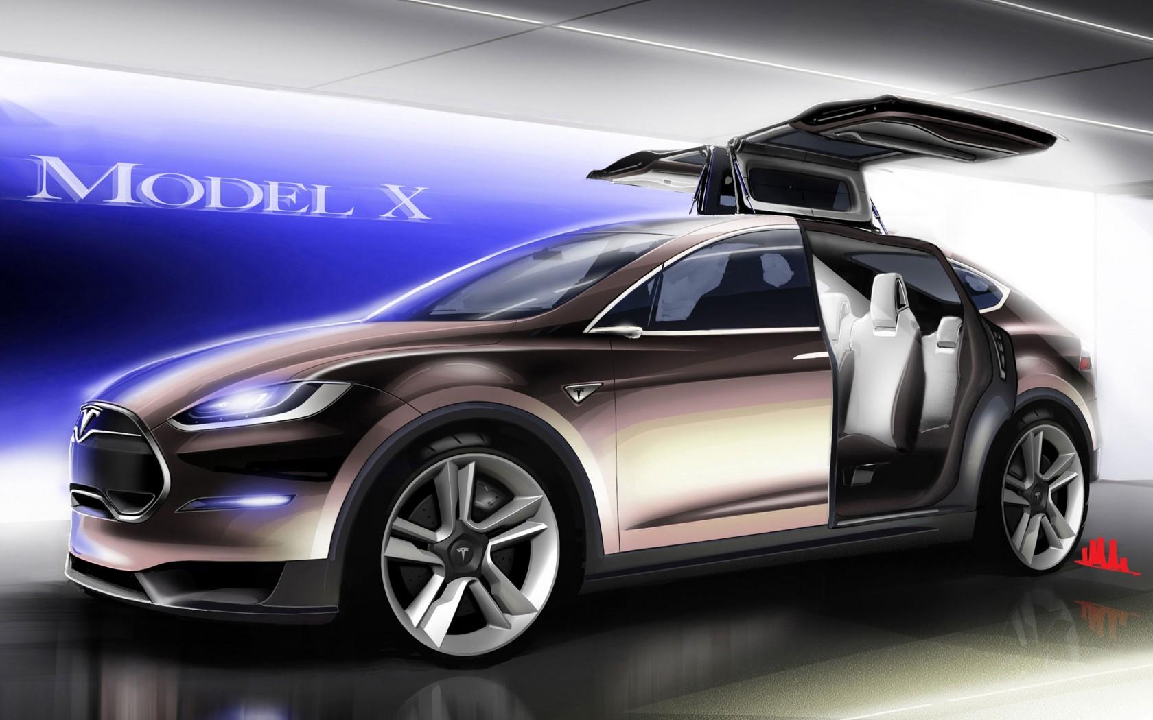 Tesla model x wallpaper hd car wallpapers id 3202 - Tesla wallpaper android ...