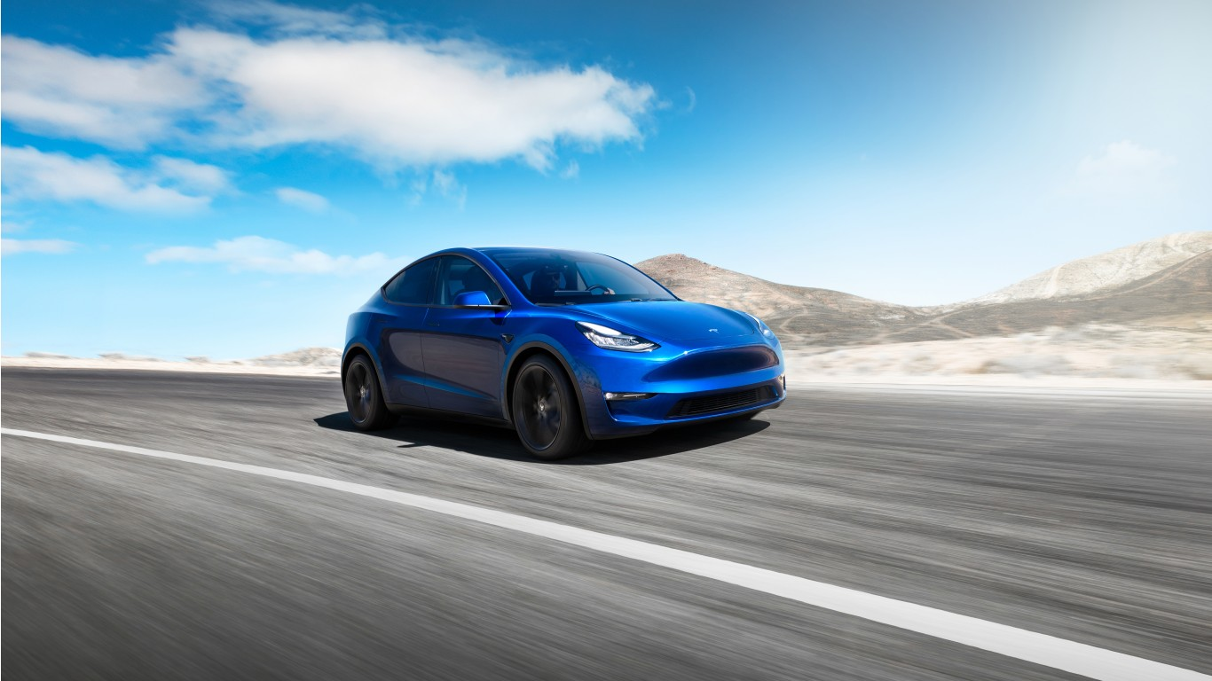 Tesla Model Y 2020 4K Wallpaper