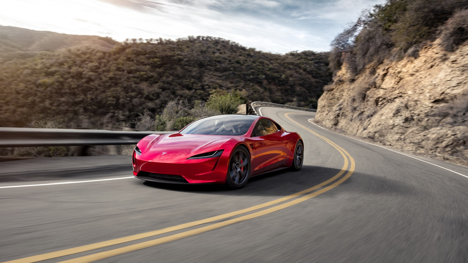 Tesla Roadster K X on Tesla Electric Car Design