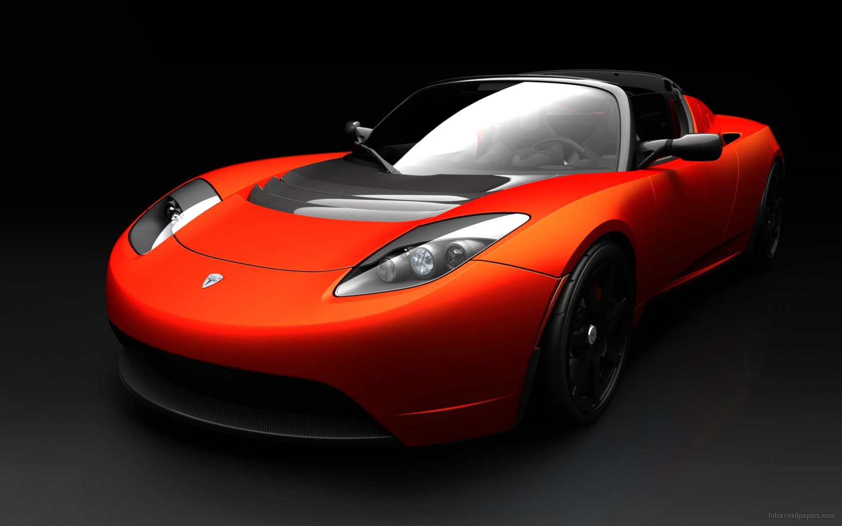 Tesla roadster sports car wallpaper hd car wallpapers - Sports car pictures download ...