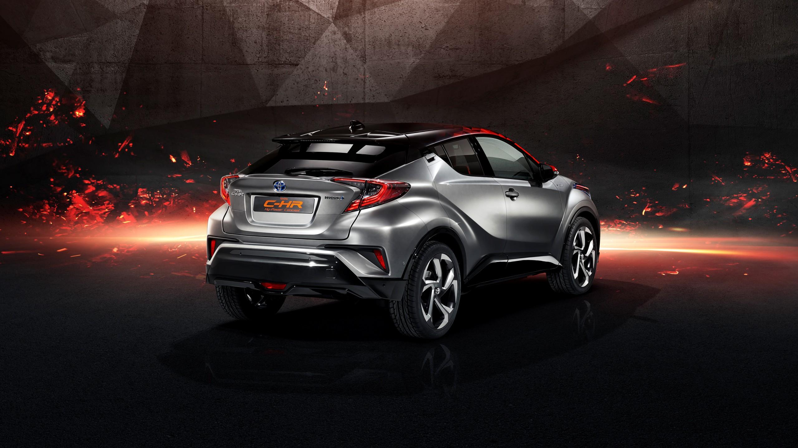 toyota c hr hy power concept 2017 frankfurt motor show 4k