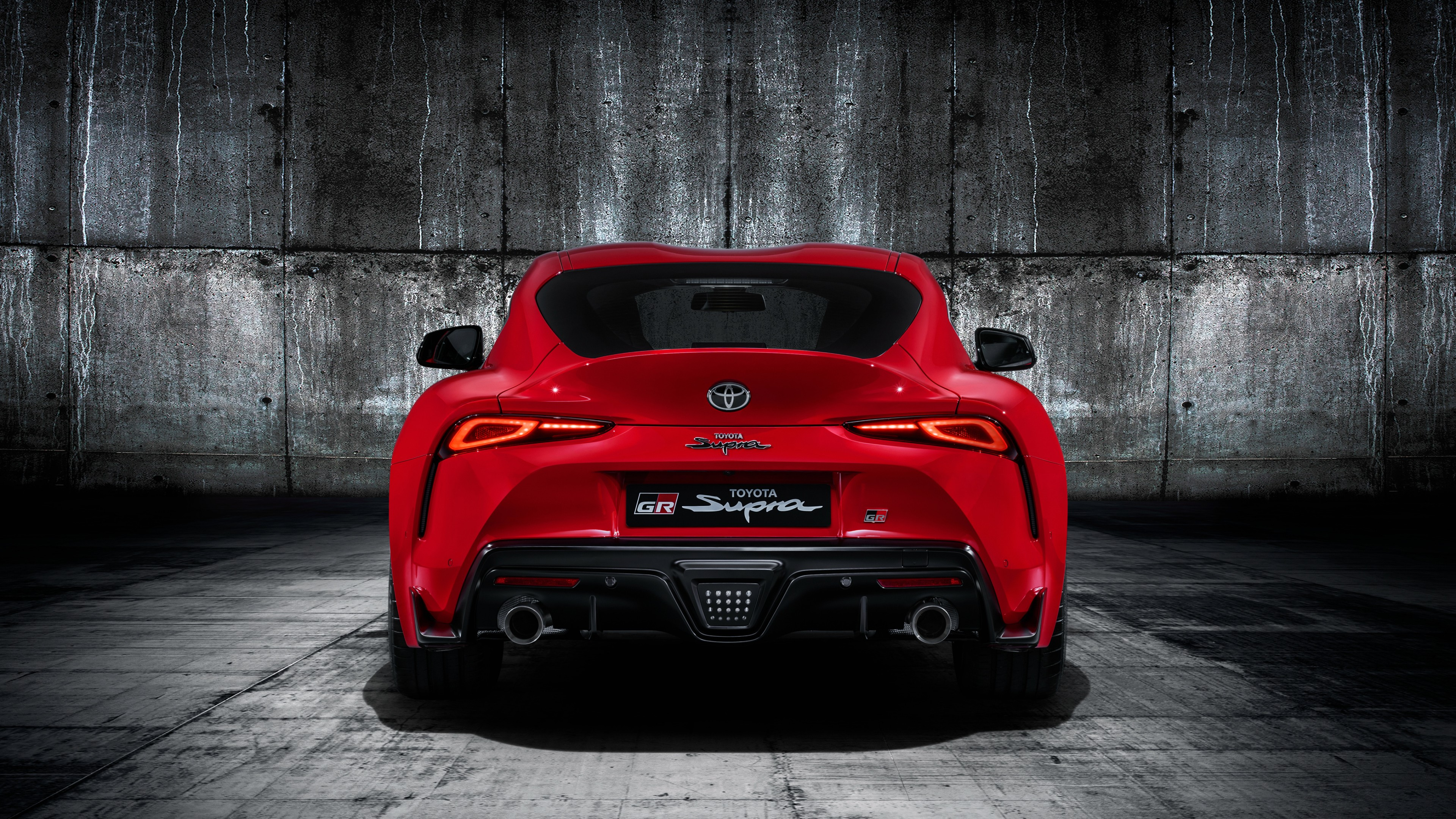 Toyota Gr Supra 2019 4k 3 Wallpaper