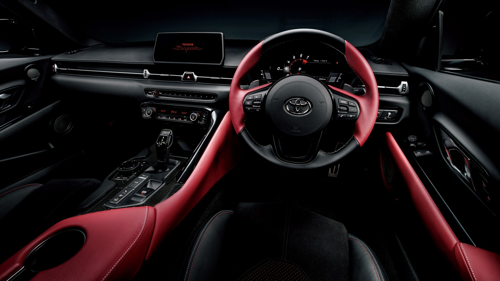 Toyota GR Supra 2019 Interior Wallpaper