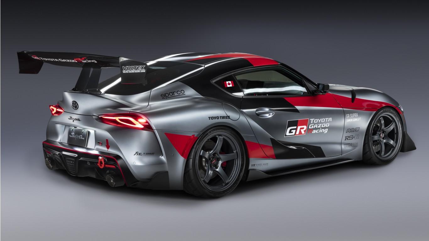 Toyota GR Supra Track Concept 2020 5K 3 Wallpaper   HD Car ...