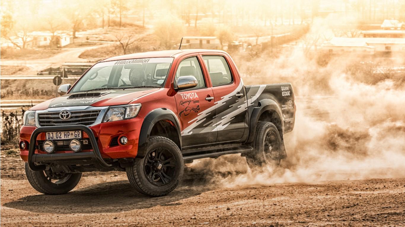 2015 Toyota Supra >> Toyota Hilux 2015 Wallpaper   HD Car Wallpapers   ID #5714