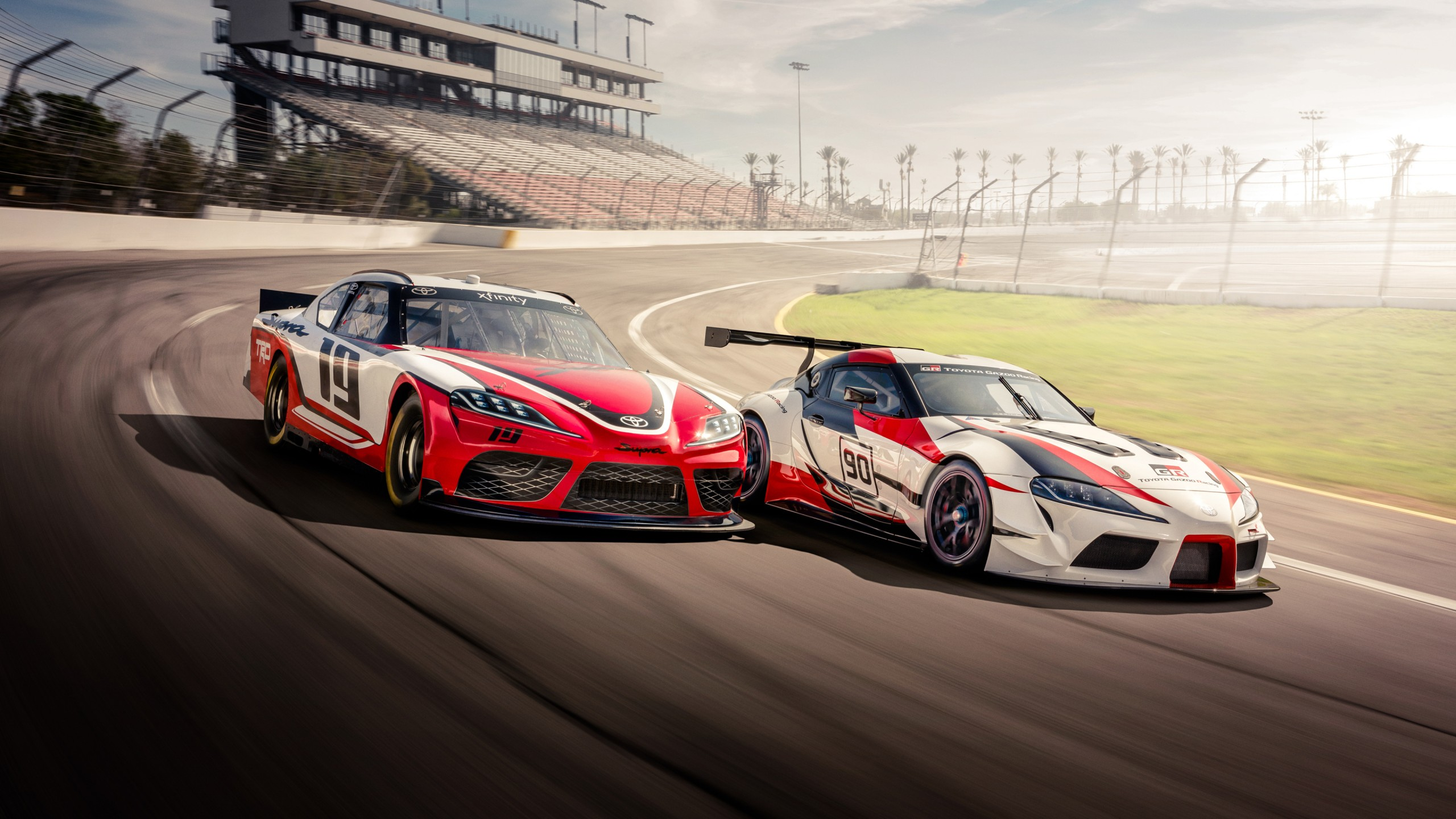 Toyota Supra 2018 4K 2 Wallpaper