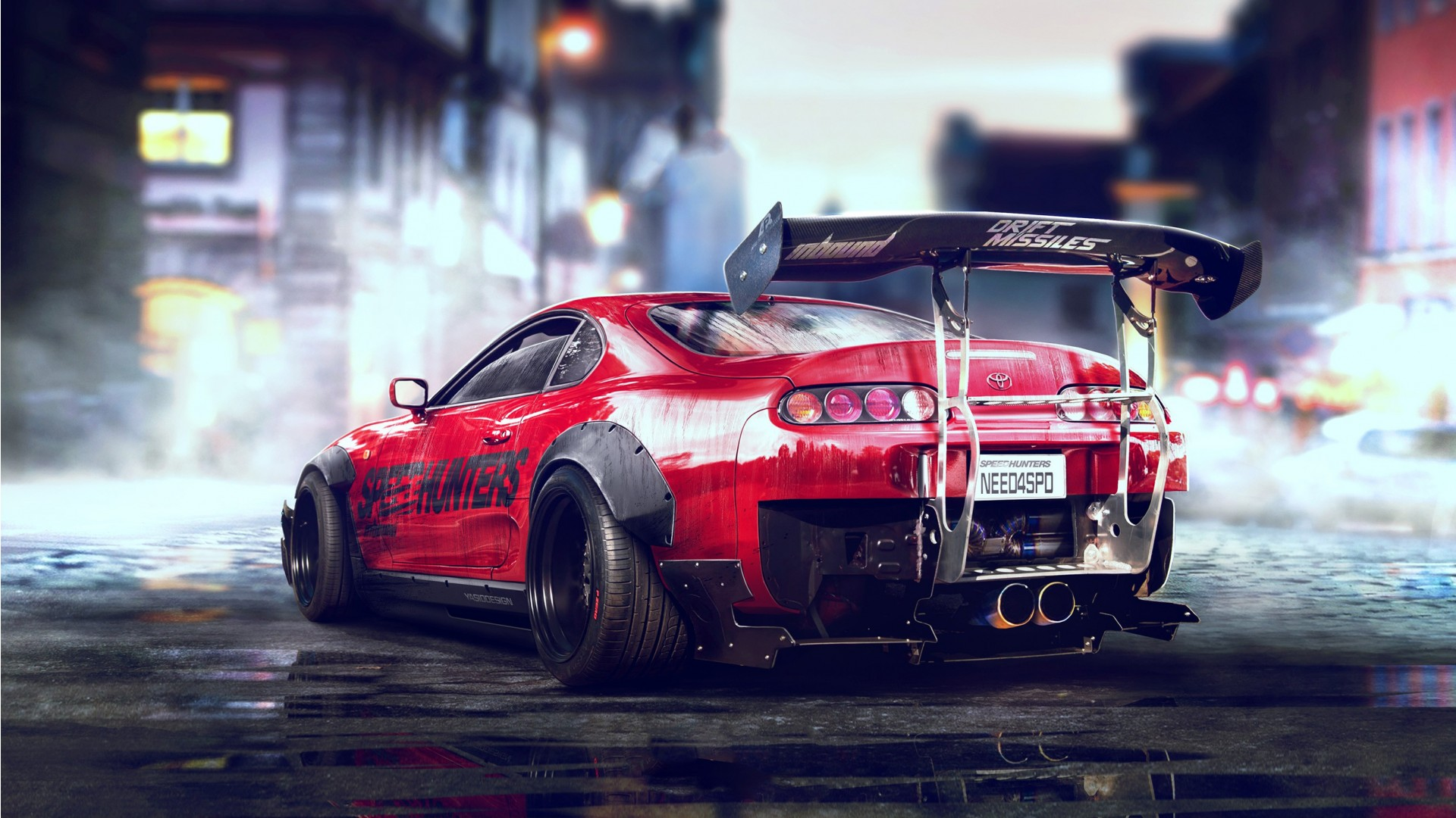 Toyota Supra Need For Speed Wallpaper Hd Car Wallpapers Id 7779