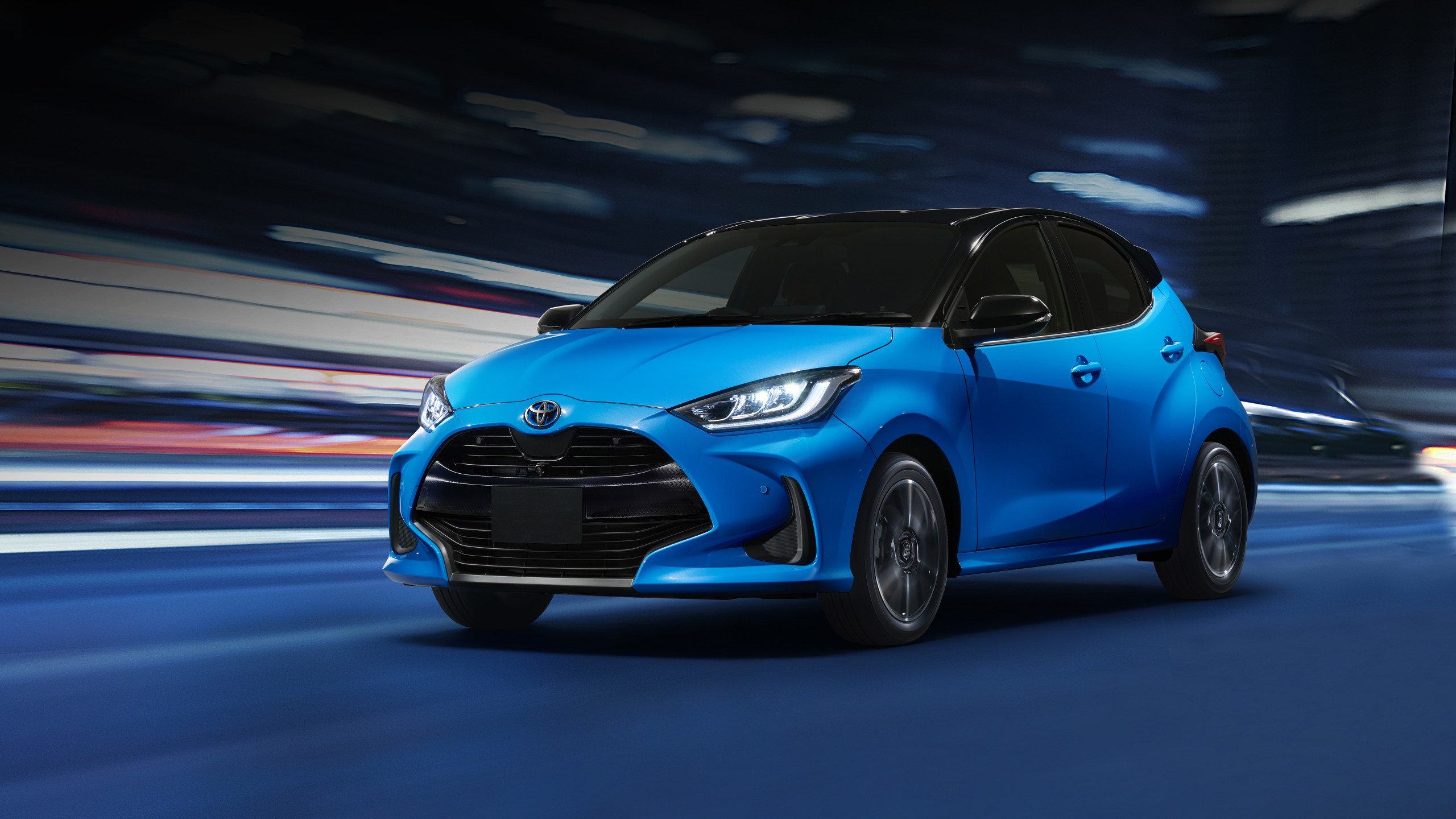 toyota yaris hybrid 2020 4k wallpaper | hd car wallpapers