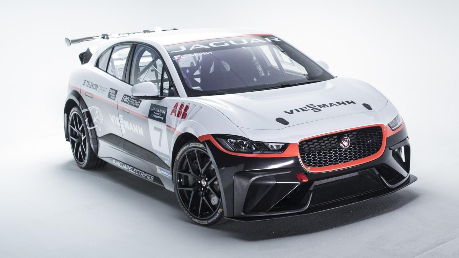 F Type Coupe >> Viessmann Team Germany Jaguar I-Pace eTrophy 4K Wallpaper