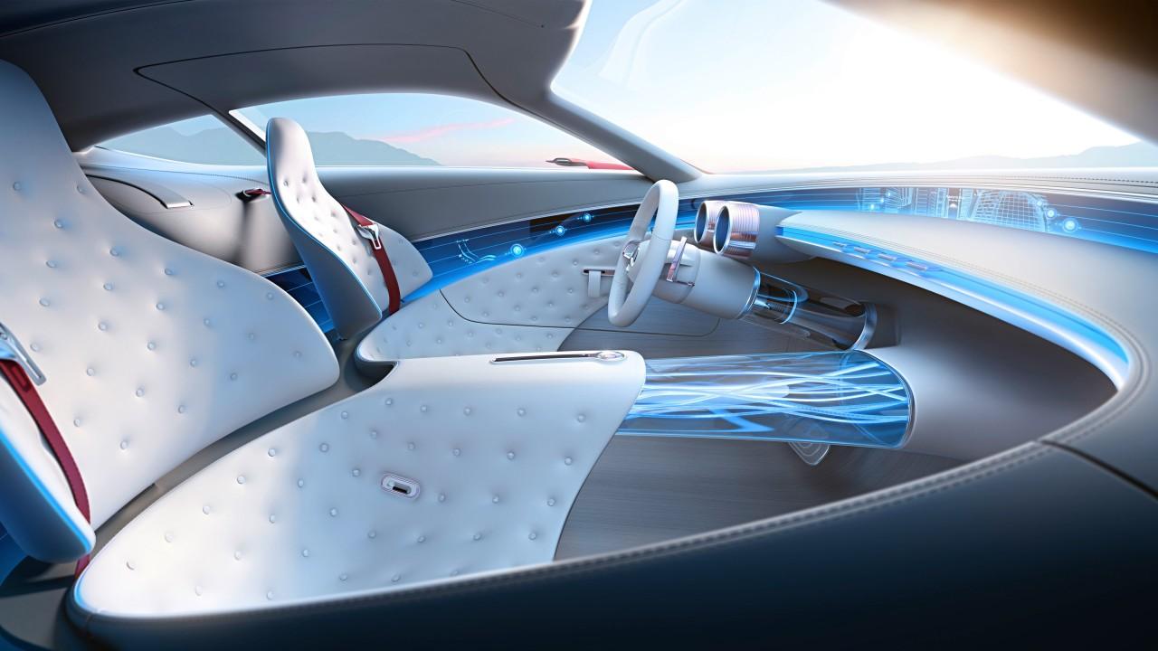 Vision Mercedes Maybach 6 Interior Wallpaper Hd Car