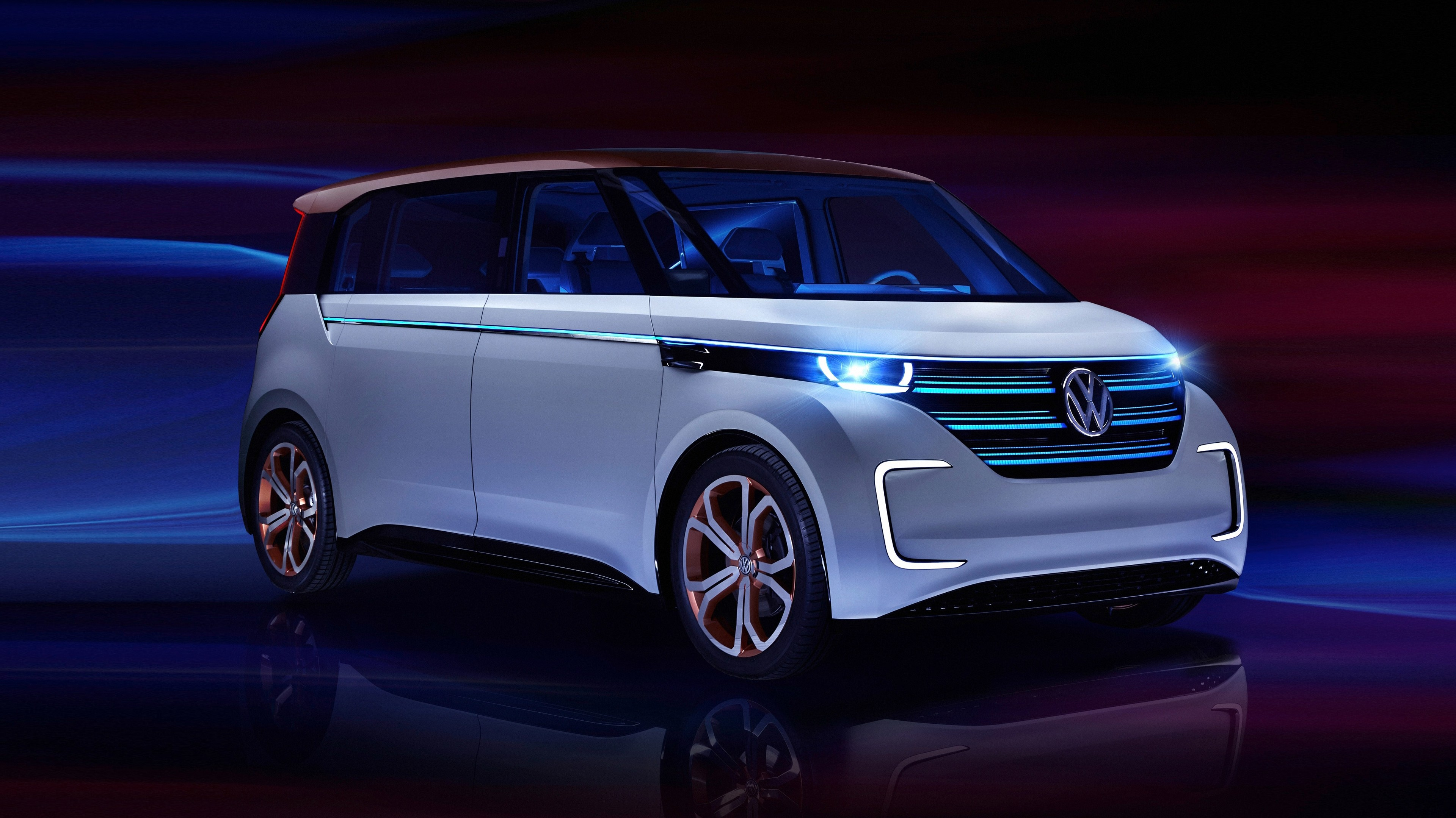 Volkswagen BUDD E Electric Car 4K Wallpaper