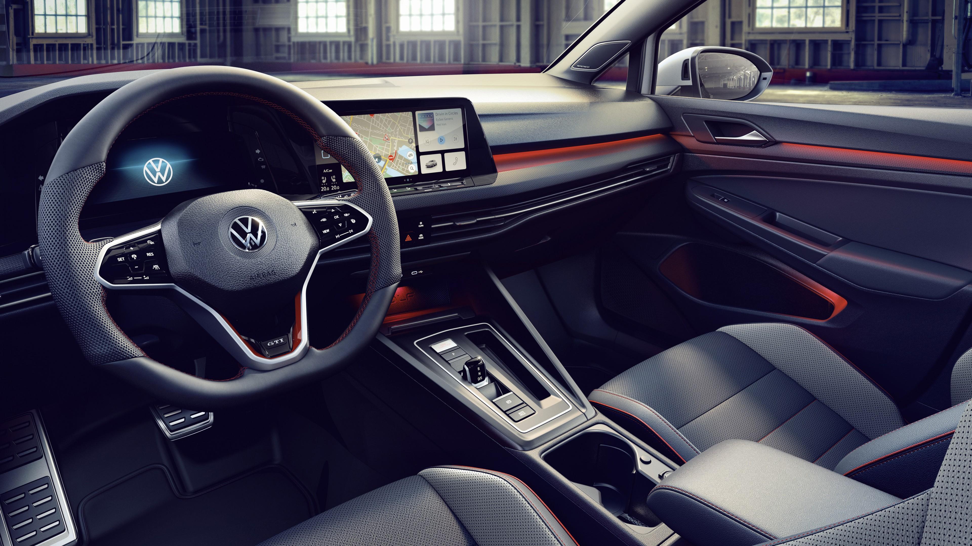 Volkswagen Golf GTI Clubsport 2020 5K Interior Wallpaper ...