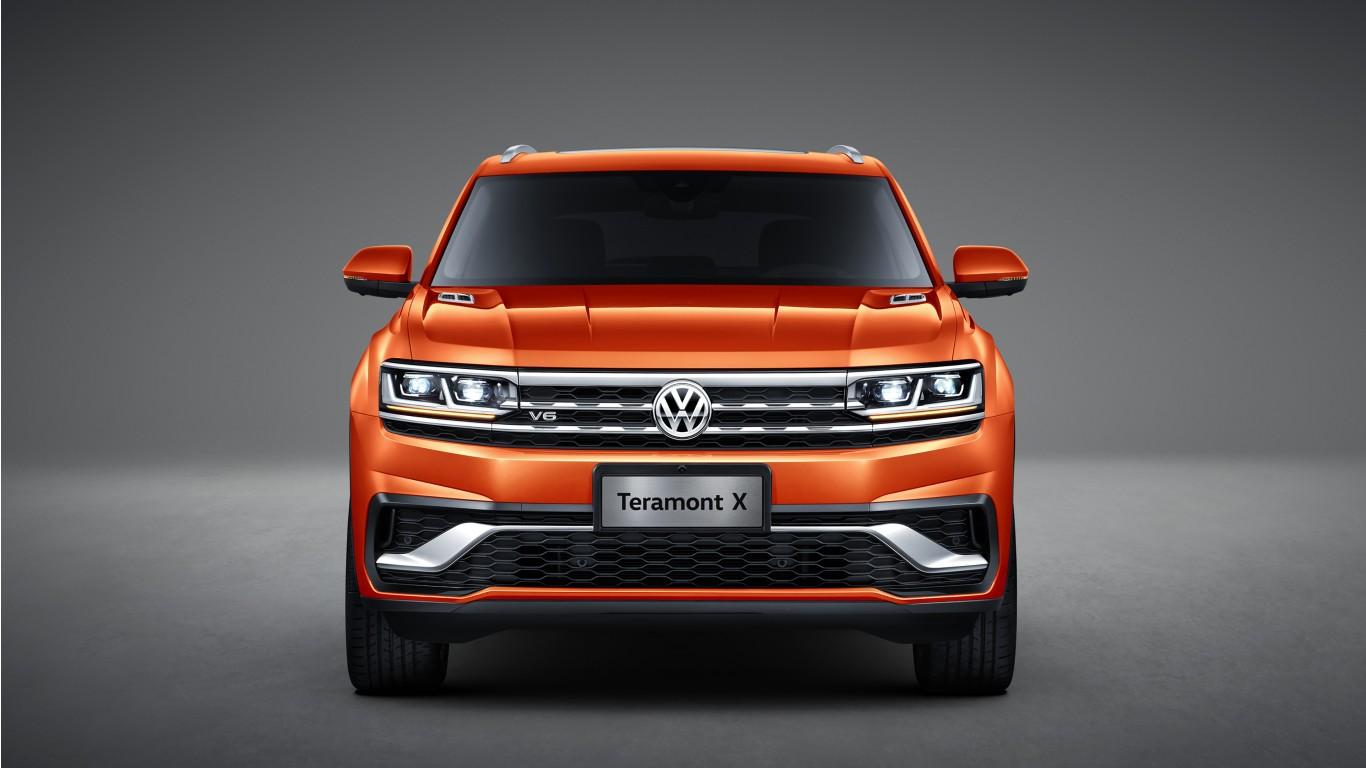 Volkswagen Teramont X 2019 4k Wallpaper Hd Car