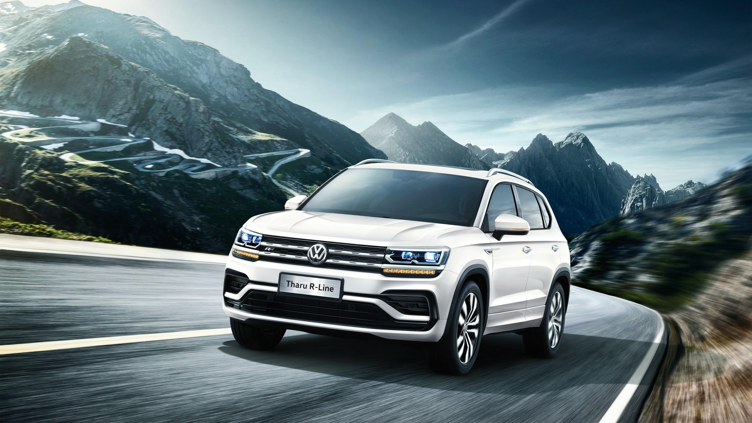 Volkswagen Tharu R-Line 2018 4K Wallpaper