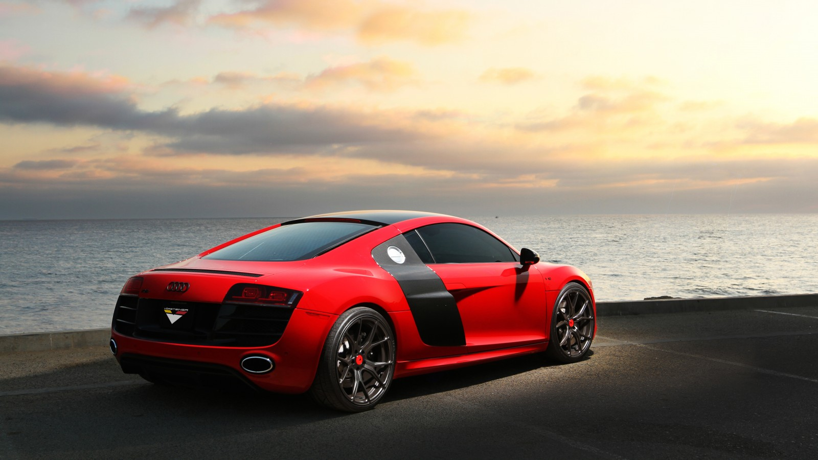 Cars Wallpapers: Vorsteiner Audi R8 Carbon Graphite 5K 2 Wallpaper