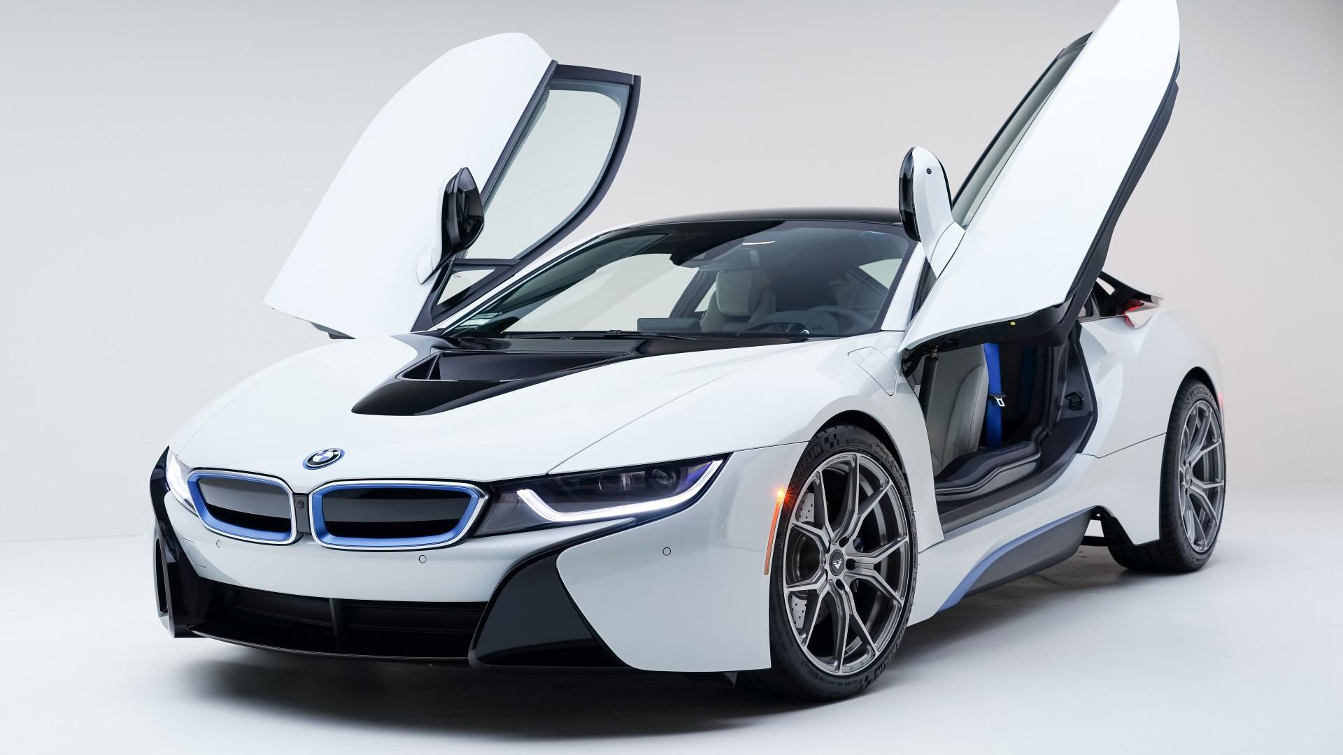 Bmw I8 Car Concept 4k Hd Desktop Wallpaper For 4k Ultra Hd: Vorsteiner BMW I8 Wallpaper