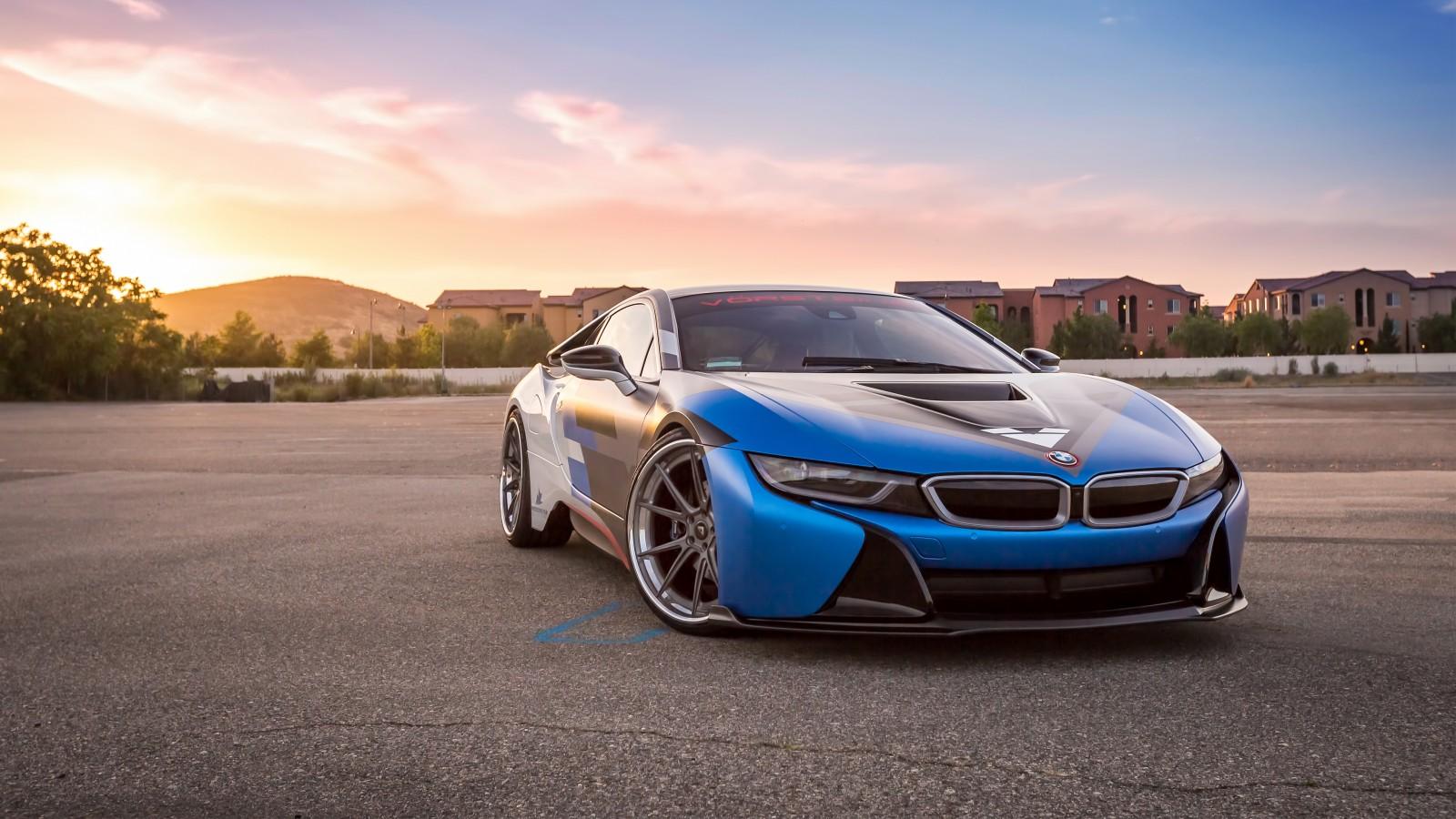 Vorsteiner BMW I8 VR E 4K Wallpaper