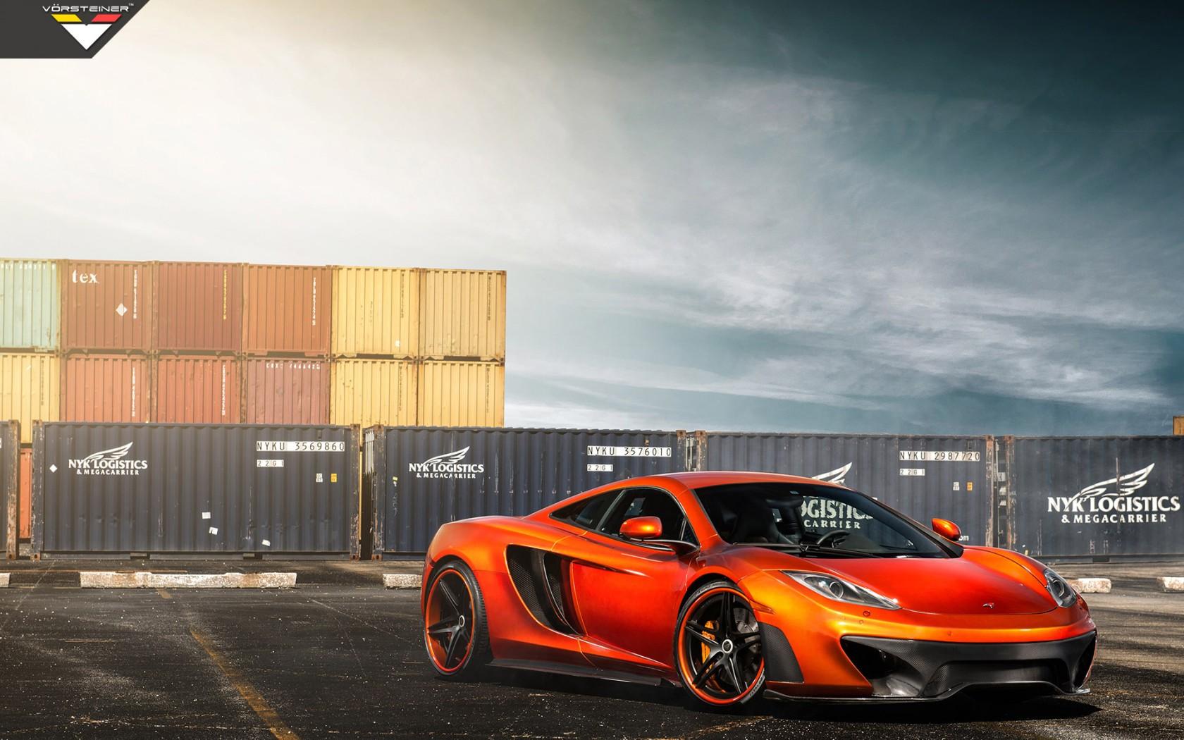 Vorsteiner Mclaren Mp4 Vx Volcano Orange Wallpaper Hd Car Wallpapers Id 4536