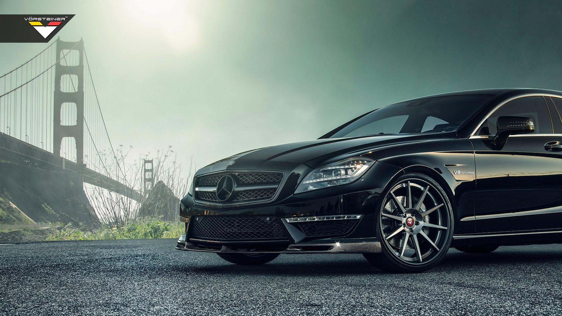 Vorsteiner mercedes benz cls63 amg 2 wallpaper hd car for Mercedes benz cls63