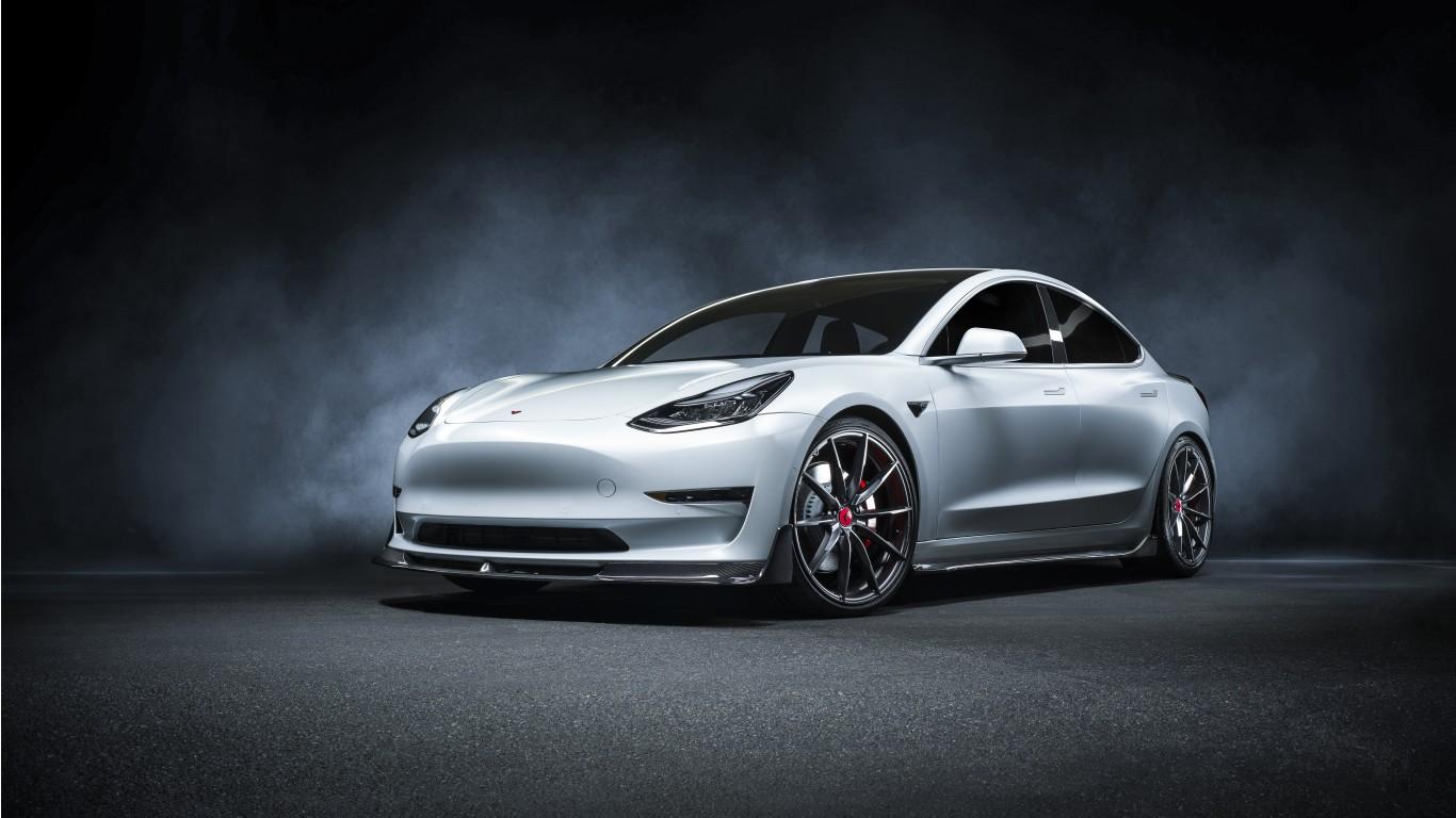 Vorsteiner Tesla Model 3 Volta 2019 4K Wallpaper | HD Car ...