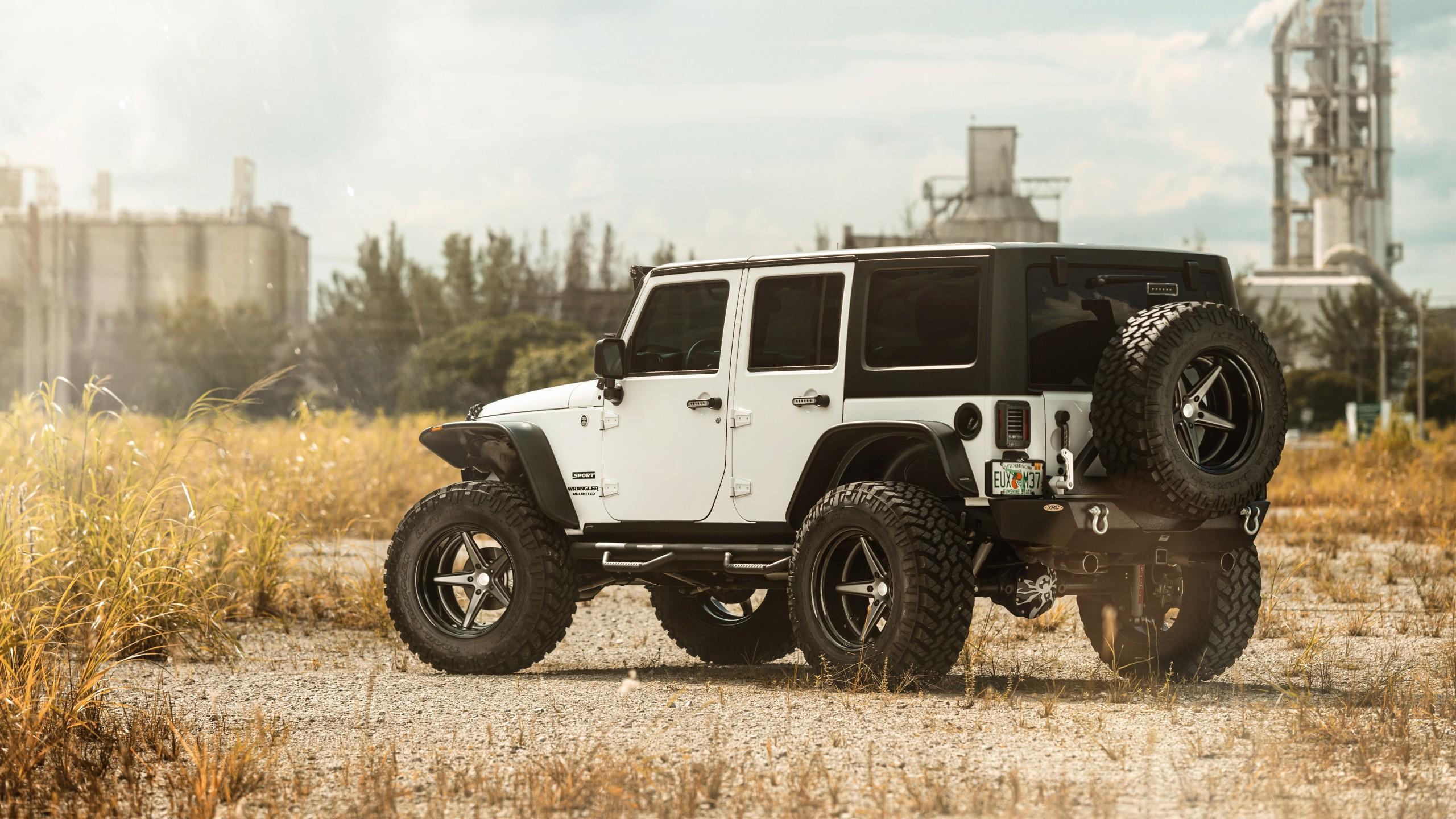 Vossen Wheels Jeep 4k Wallpaper Hd Car Wallpapers