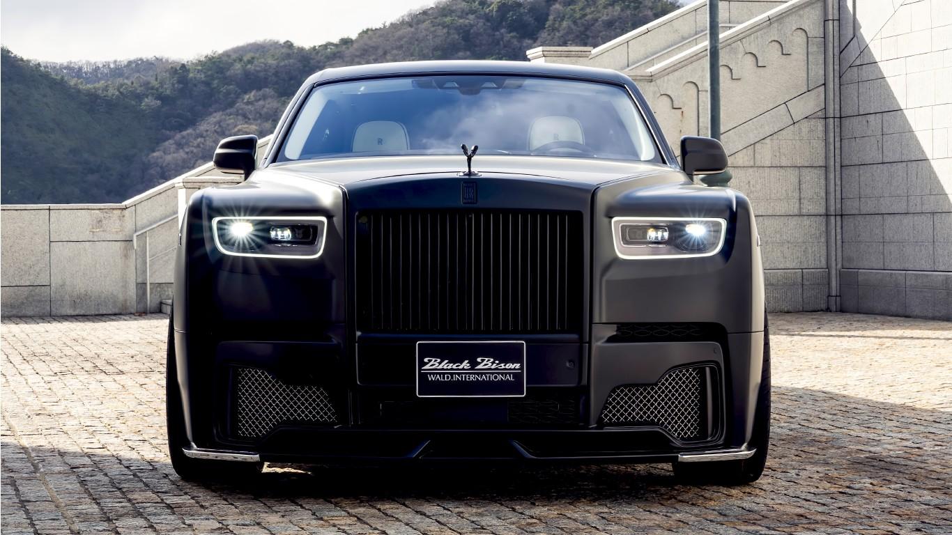 WALD Rolls-Royce Phantom Sports Line Black Bison Edition ...