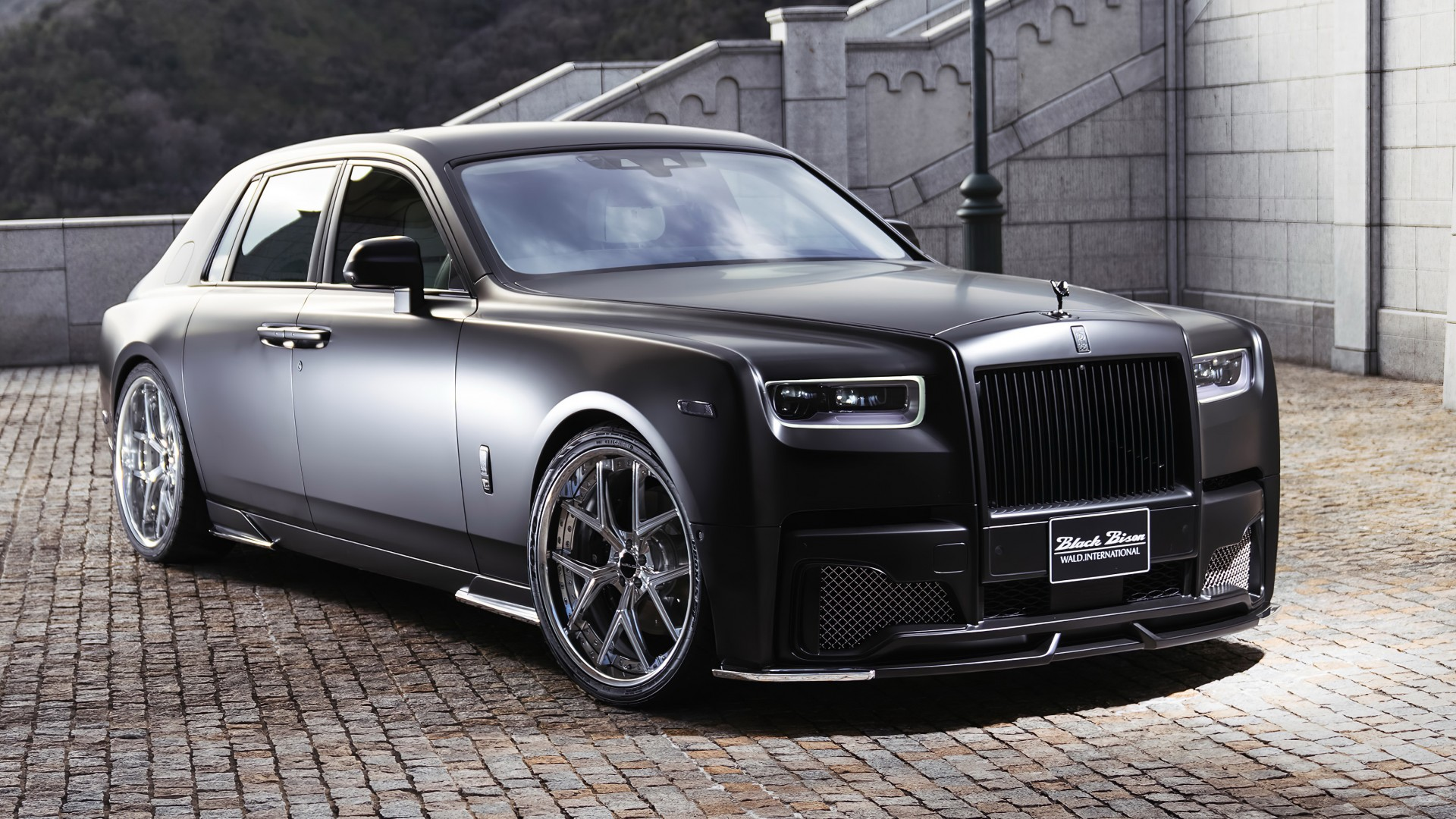 Rolls Royce Ghost Black Badge >> WALD Rolls-Royce Phantom Sports Line Black Bison Edition