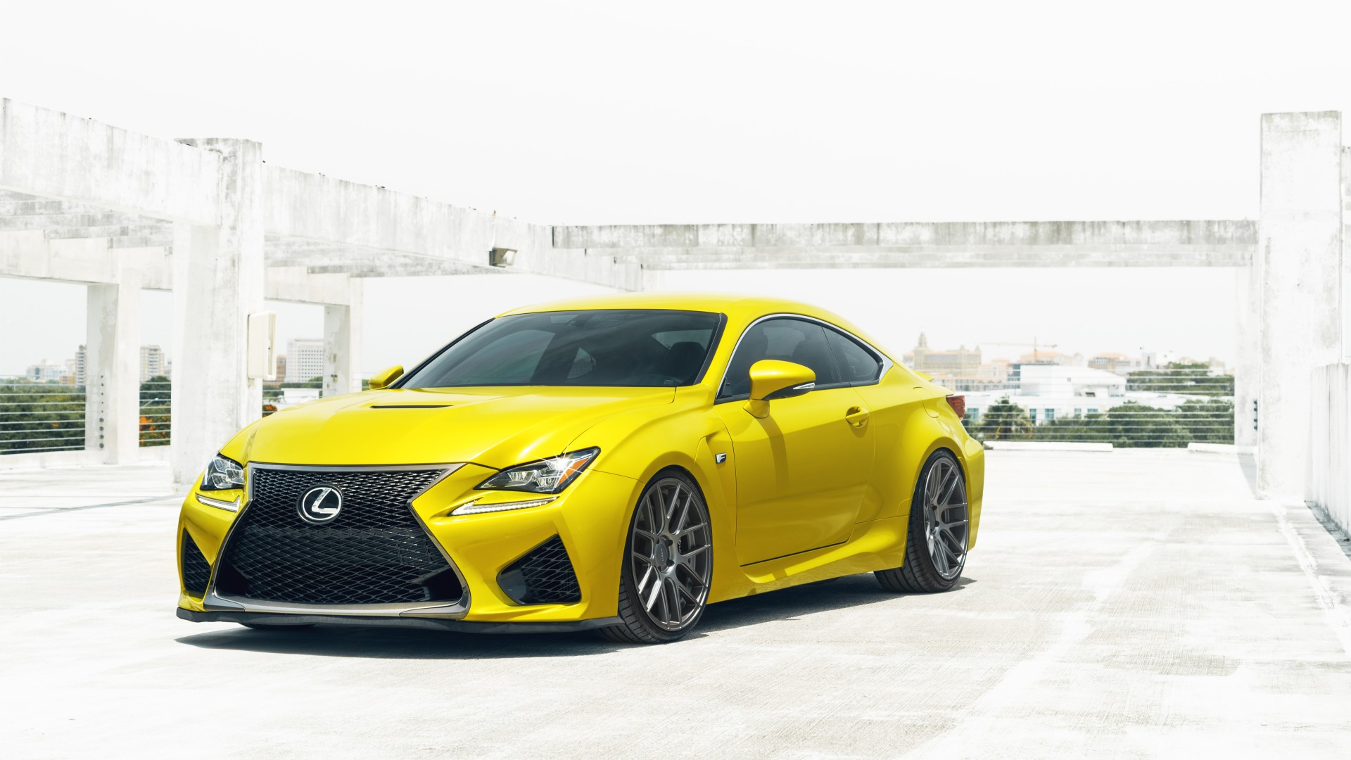 Yellow Lexus RCF Wallpaper | HD Car Wallpapers | ID #5588