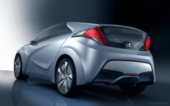 2009 Hyundai Blue Will Concept Rear