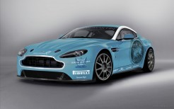 Aston Martin Returns To Race V12 Vantage