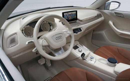 Audi Cross Coupe Interior
