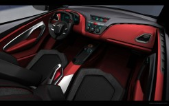 Chevrolet GPiX Coupe Concept Interior