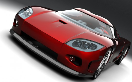 Koenigsegg Red Concept Car