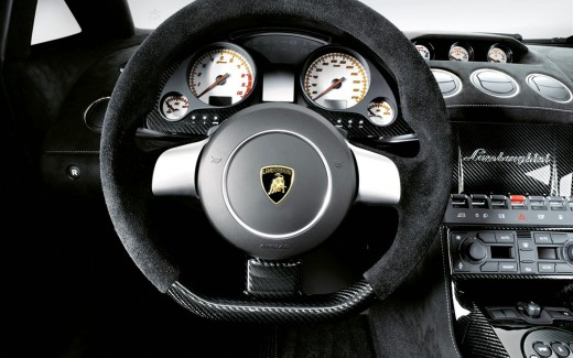 Lamborghini Gallardo Superleggera Interior