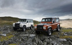 Land Rover Defender Fire Ice Editions