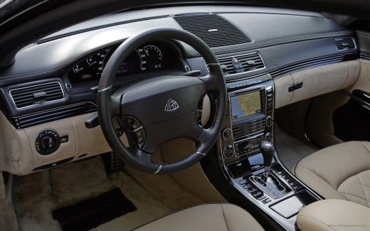 Maybach Zeppelin Interior 2