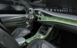 Mercedes Benz Concept BlueZERO Interior