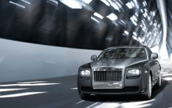Rolls Royce Ghost on Road
