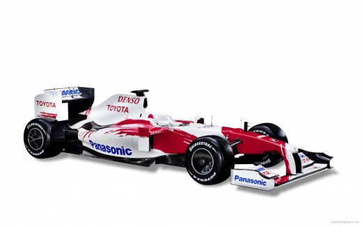 Toyota TF109 Race Car