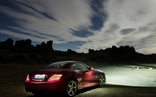 2012 Mercedes Benz SLK Roadster 2