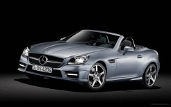 2012 Mercedes Benz SLK Roadster 3