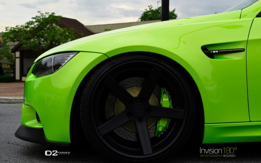 BMW M3 D2Forged Wheels