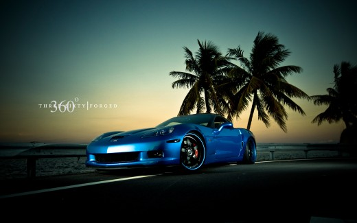Corvette Z06 Jetstream Blue 2