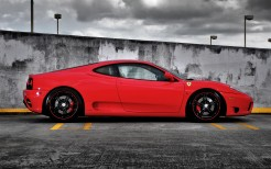 Ferrari on Forged CF 5 Wheels 2