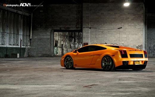 Lamborghini Gallardo ADV1 Shoot